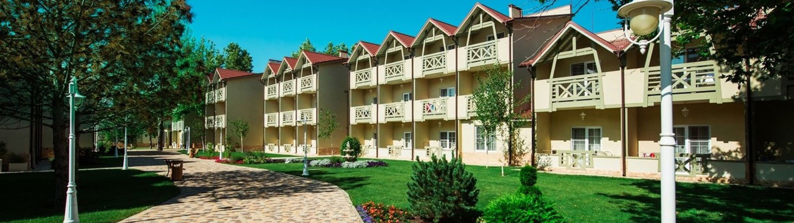 Отель «Alean Family Resort SPA Doville» (Алеан Ремели Резорт Спа Довиль), Анапа
